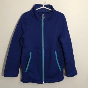 Spyder Polyester Full Zip Knit Jacket